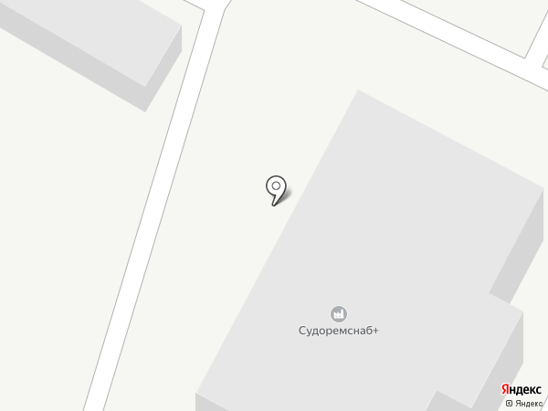 Судоремснаб + на карте Новороссийска