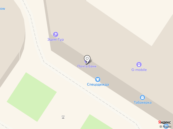 Магазин спецодежды и униформы на карте Новороссийска