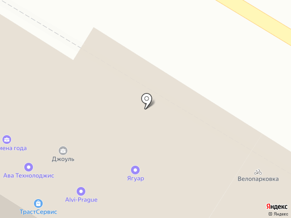 La Villa на карте Москвы