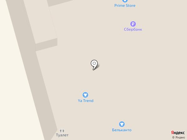 Бри на карте Мытищ