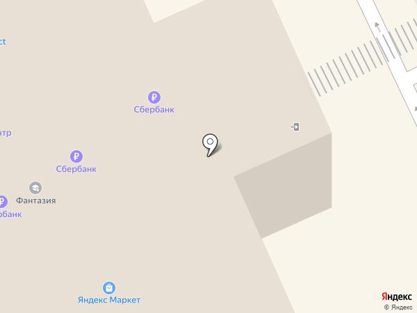 Сервисная компания на карте Москвы