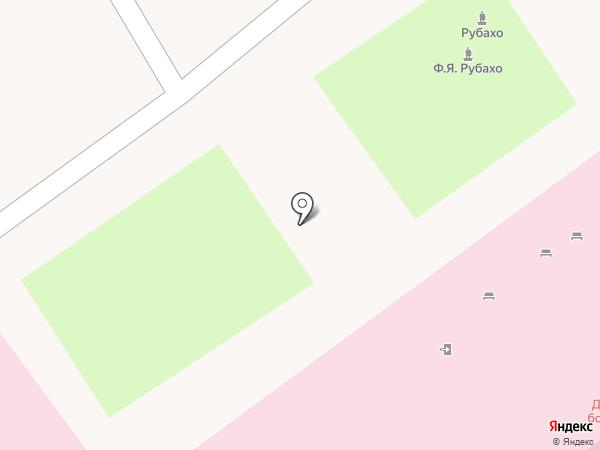 Детская городская больница на карте Новороссийска