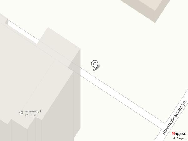 AURA на карте Новороссийска