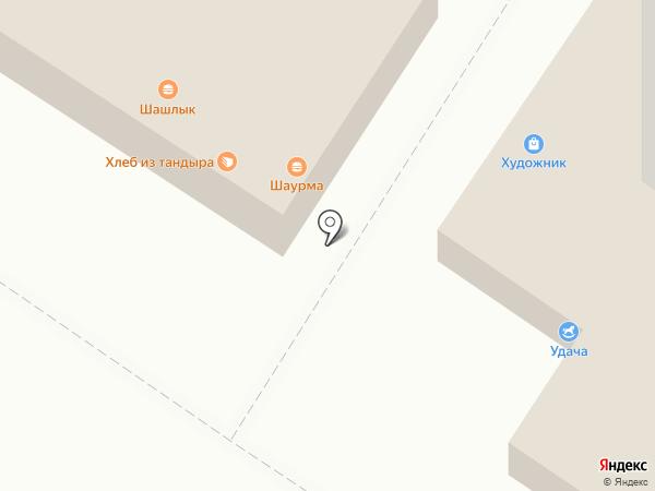 Трио на карте Новороссийска