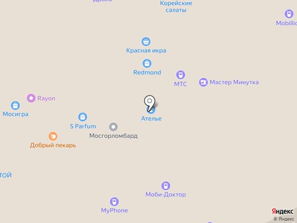 Mobi-Doctor на карте Москвы