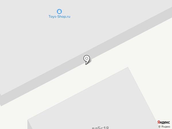 Столовая на карте Москвы