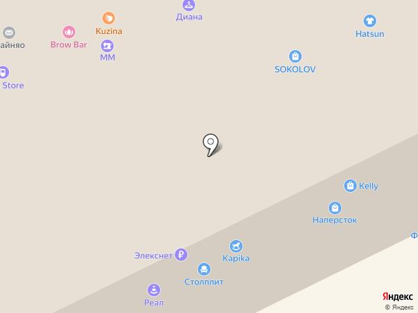 Kapika на карте Москвы