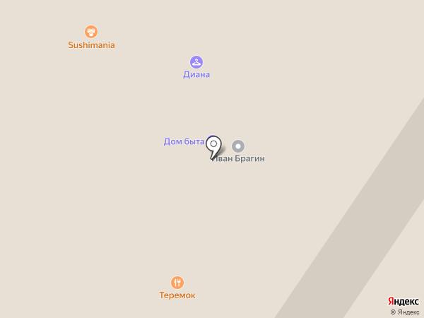 Адамас на карте Мытищ
