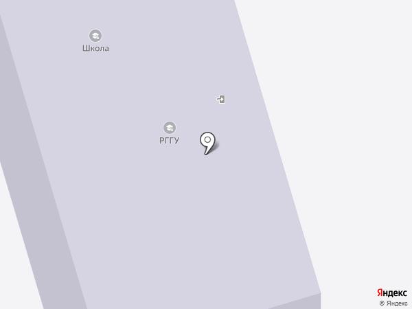 Открытая (сменная) общеобразовательная школа на карте Домодедово