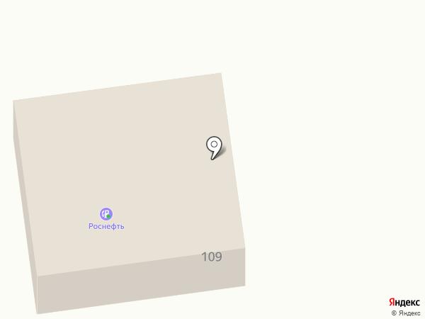 АЗС Роснефть на карте Старого Оскола