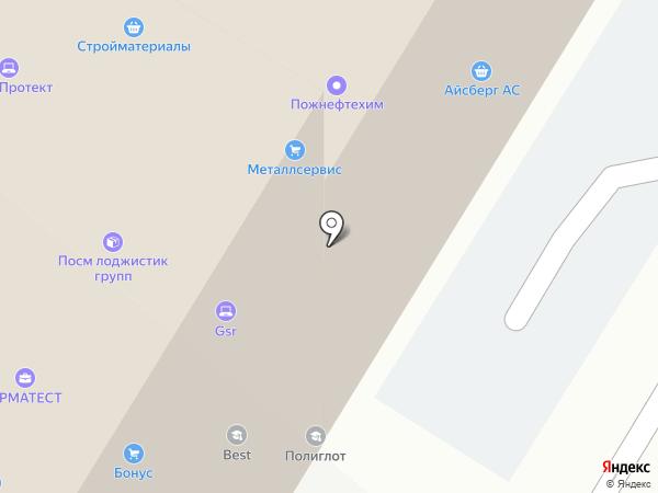 Burger Lounge на карте Москвы