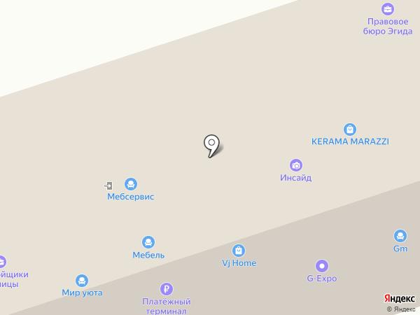 G-Expo на карте Москвы