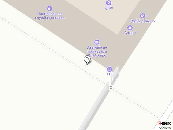 ТТК, ЗАО на карте Новороссийска