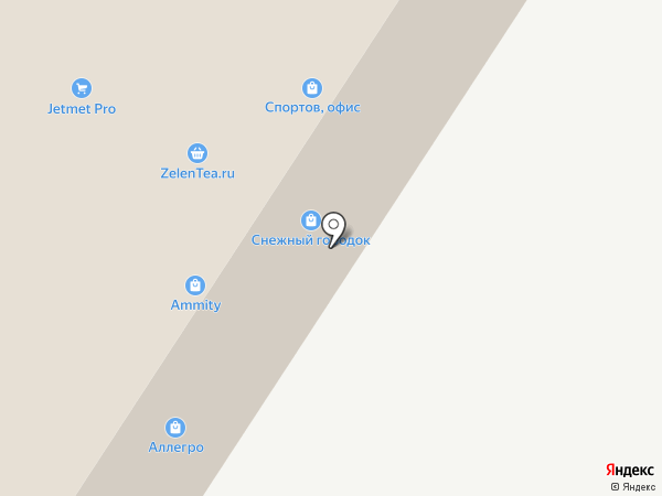 Сноупласт на карте Москвы