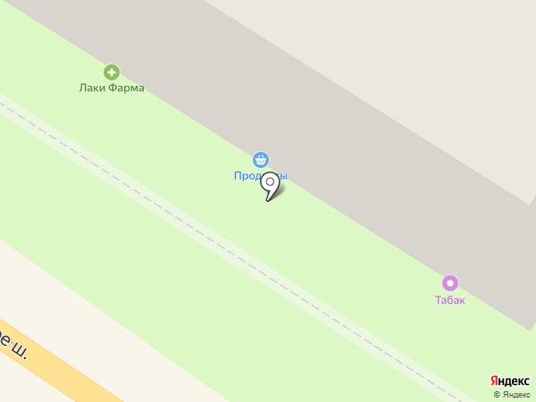 Южанка на карте Новороссийска