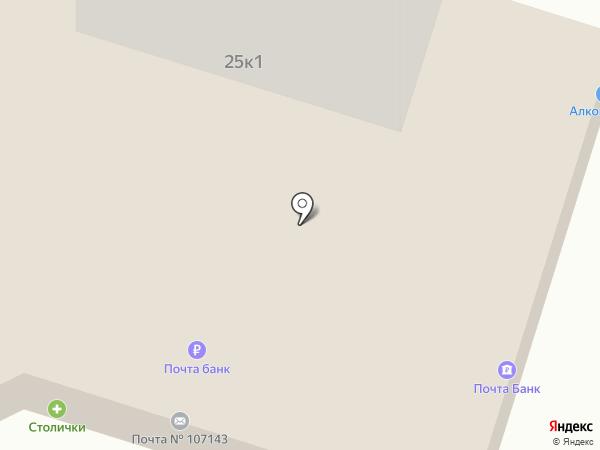 Жужу на карте Москвы