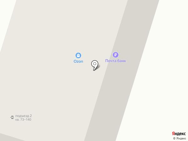Почтовое отделение №107143 на карте Москвы