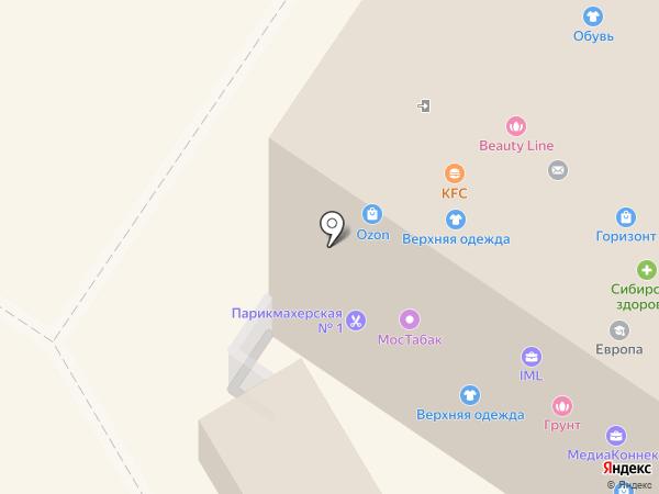 Лукреция на карте Мытищ