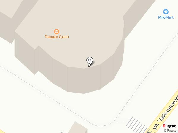 Банкомат, Банк Югра, ПАО на карте Новороссийска
