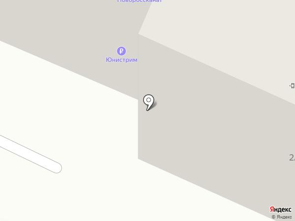 Маркхотский ключ на карте Новороссийска