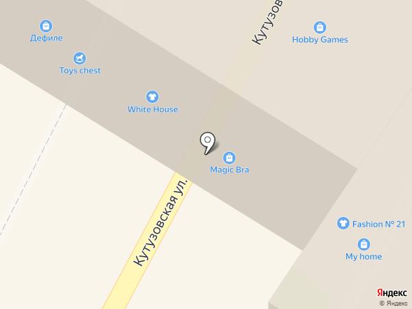 Bambinizon на карте Новороссийска