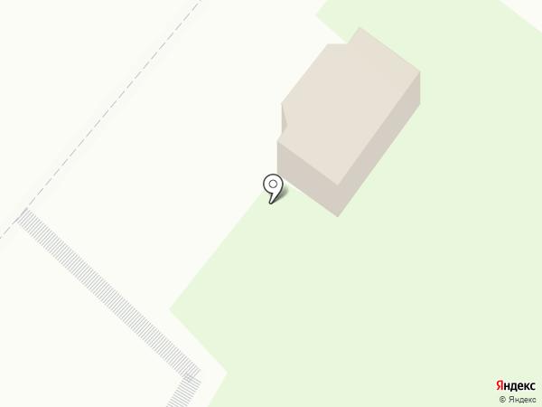 Киоск по продаже выпечки на карте Мытищ