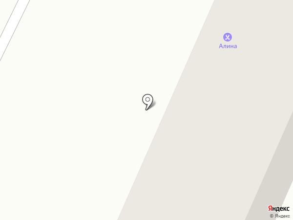 Алина на карте Новороссийска