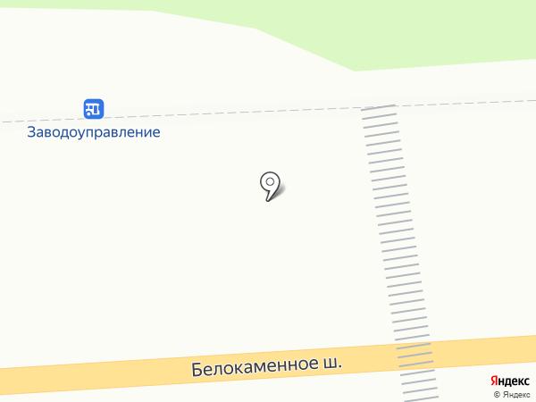 Киоск по продаже цветов на карте Видного