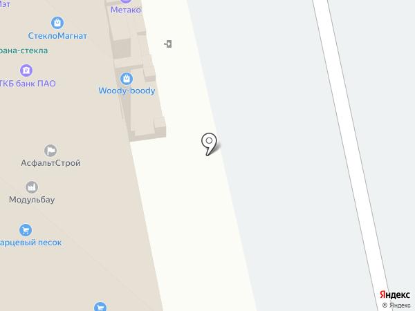Дверная Биржа Цитадель на карте Домодедово