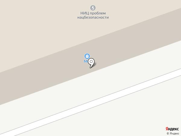 Национальная безопасность на карте Москвы