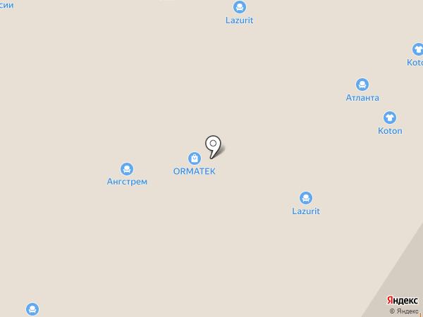 Макс на карте Новороссийска
