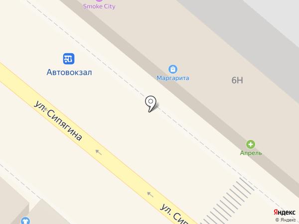 Ермолино на карте Новороссийска