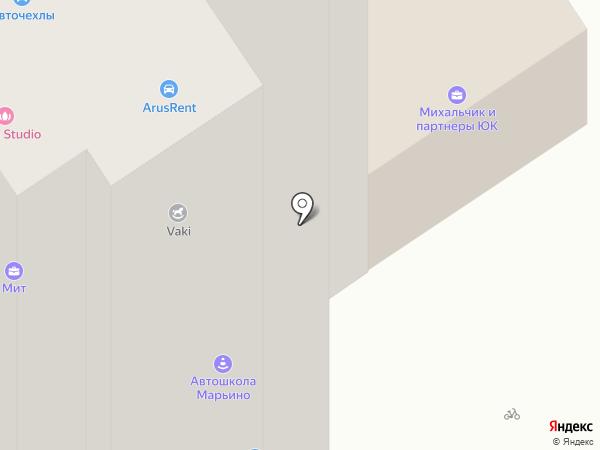 Зарница-Авто на карте Москвы