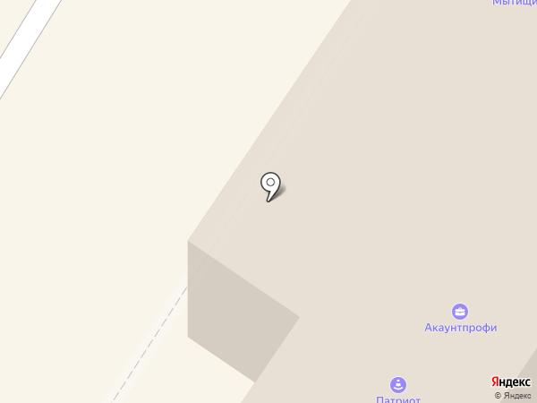 Меланта на карте Мытищ