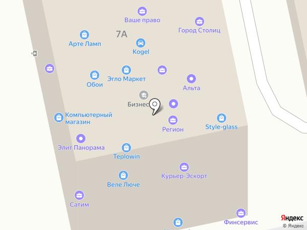 Куда-Везти на карте Домодедово