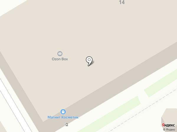 Универсальный магазин на карте Новороссийска
