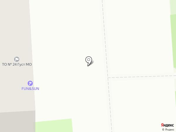 Амарант на карте Домодедово