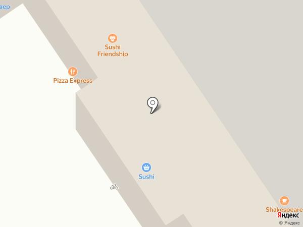 Четыре лапы на карте Москвы
