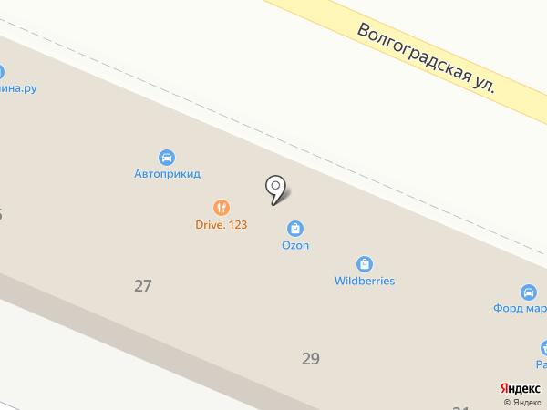 Новострой на карте Новороссийска