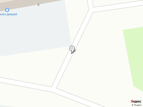 Салон дверей на карте Домодедово