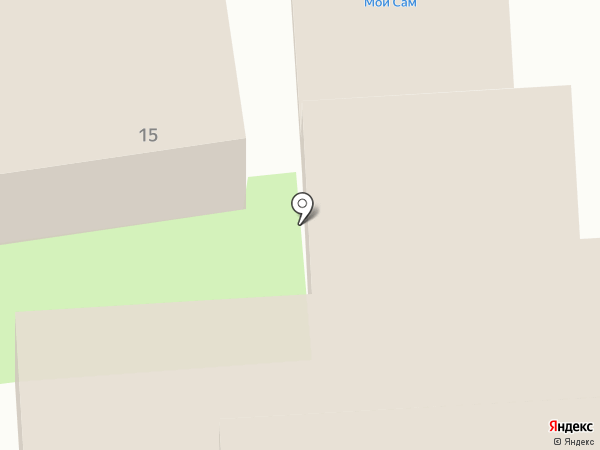 АКваэЛ на карте Домодедово