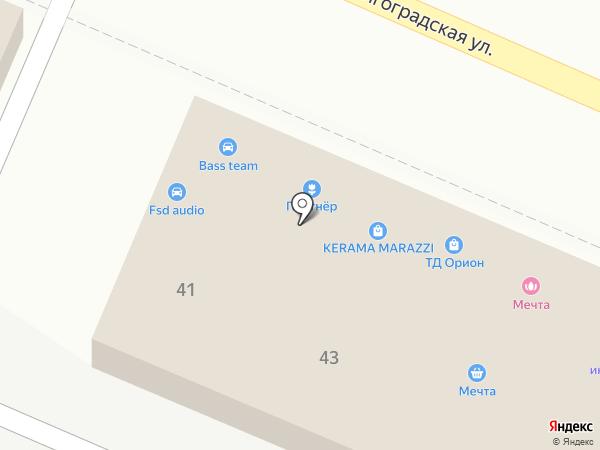 Инструмент-Сервис на карте Новороссийска