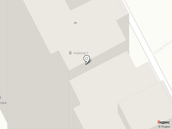 Большое Домодедово на карте Домодедово