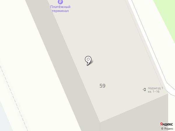 ЮНИСТРИМ на карте Домодедово