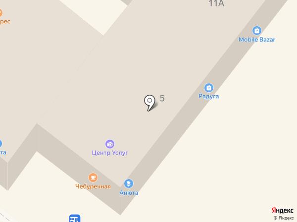 Фаворит на карте Новороссийска