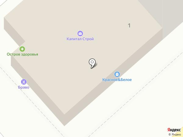 Октябрьский на карте Новороссийска