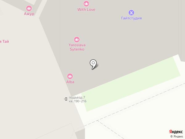 Ногтевая студия на карте Домодедово