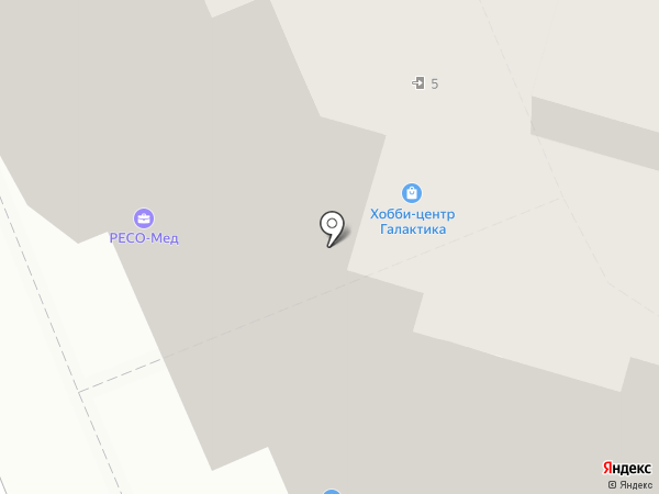 Магазин товаров для детей на карте Домодедово