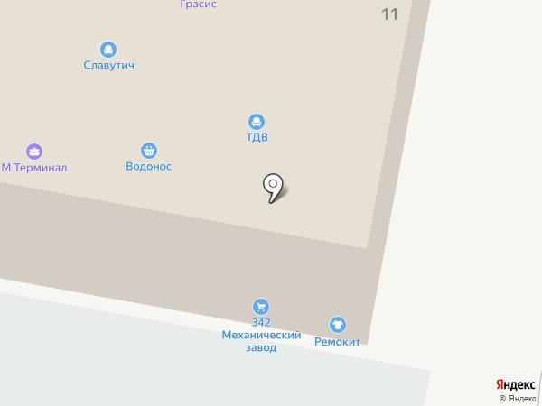 Альтернатива на карте Домодедово