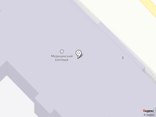 Новороссийский медицинский колледж на карте Новороссийска